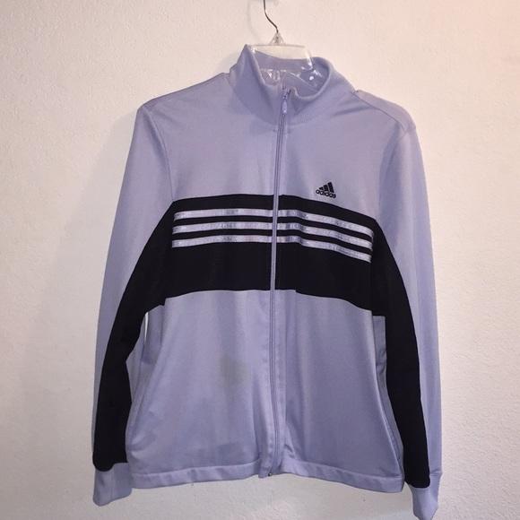 adidas Jackets & Blazers - Adidas Zippered Lightweight Athletic Jacket